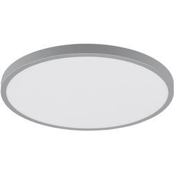 EGLO Aufbauleuchte FUEVA 1, schlankes Design, nur 3 cm hoch, Durchmesser 40 cm