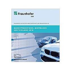 Marktpreisspiegel Mietwagen Deutschland 2018. - Buch