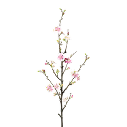 Kunstpflanze Quittenzweig, Farbe rosa, Höhe ca. 86 cm