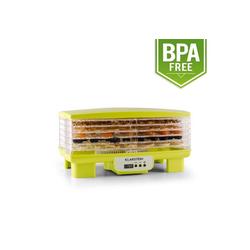 Klarstein Dörrautomat Bananarama Dörrautomat grün 550W Trockner Dehydrator 6 Etagen 550 W, 6 Etagen