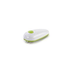 GOURMETmaxx Elektrischer Dosenöffner, weiß/green