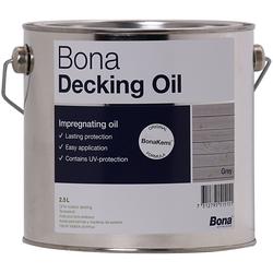 Bona Decking Oil 2,5 Liter Grey Terrassenöl