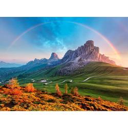 Fototapete Mountain Rainbow, glatt 2,50 m x 1,86 m