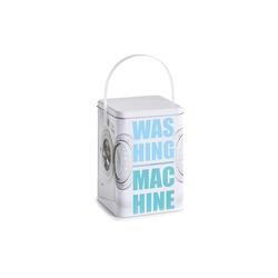 """HTI-Living Aufbewahrungsbox Waschpulver-Box, Metall """"Washing Machine"""", Aufbewahrungsbox"""