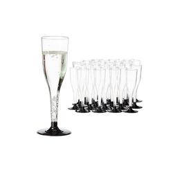 relaxdays Sektglas 36 x Mehrweg Sektgläser