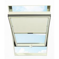 Dachfensterrollo, RORO Türen & Fenster, blickdicht, BxL: 74x140 cm, weiß