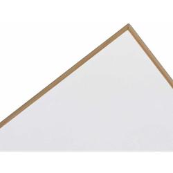 Tischplatte Eiermann Richard Lampert weiß, Designer Prof. Egon Eiermann, 2.8x180x90 cm