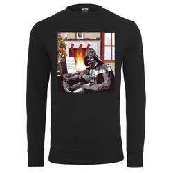 Mister Tee Herren Sweatshirt 'Darth Vader Piano' schwarz, Größe M, 4644297