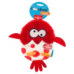 Coockoo Hundespielzeug Huggl rot