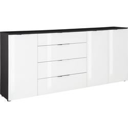 Maja Möbel Kommode TREND, mit Melaminharzbeschichtung grau 225,5 cm x 99,8 cm