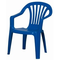 PROGARDEN Baby Altea Stapelsessel 38 x 38 x 52 cm blau