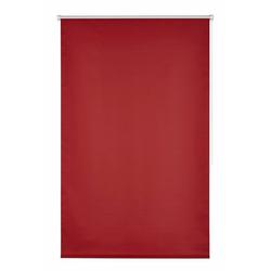 Seitenzugrollo Klemmfix-Rollo, K-HOME, verdunkelnd, ohne Bohren, 1 Stück rot 100 cm x 150 cm