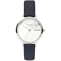 Skagen Anita Mother of Pearl Leather