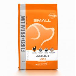 Euro Premium Small Adult Light hundefutter 3 kg