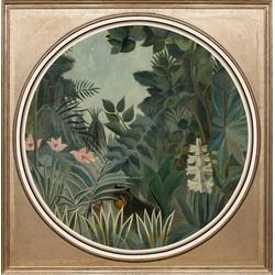 queence Acrylglasbild Dschungel