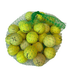 'Lakeballs Marken Mix gelb 25er Netz Qualität AAA/AA'