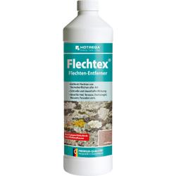 HOTREGA® Flechtex Flechtenentferner, Reiniger zur Entfernung Flechten von Steinoberflächen aller Art, 1 Liter - Flasche