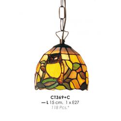 Tiffany Deckenleuchte Durchmesser 15cm CT369 + C Leuchte Lampe