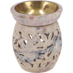 Guru-Shop Duftlampe Indische Duftlampe, ätherisches Öl Diffusor,.. 8 cm x 10 cm x 8 cm
