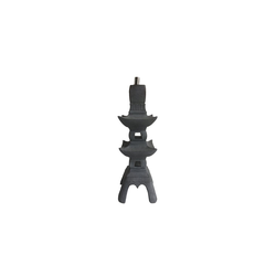 HTI-Line Dekofigur Öllampe Pagode (1 Stück), Öllampe