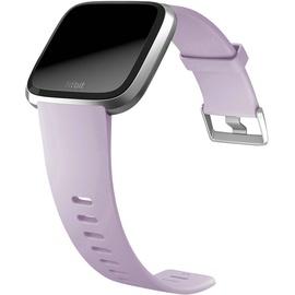 Fitbit Versa Lite flieder / aluminium silber
