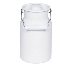 Riess Wasserkrug Riess Milchkanne mit Deckel aus Emaille 2,0 Liter
