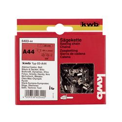 """KWB Sägekette für Kettensäge C44 Länge: 30 cm, Kettenteilung: 10mm (3/8"""") Hobby"""