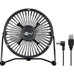 Goobay USB Ventilator 4 Zoll für den Schreibtisch mit AN/ Handy-Netzteile