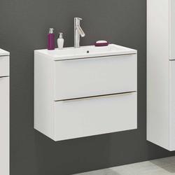 Waschschrank in Weiß Einlass-Waschbecken