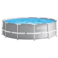 Intex Prism Frame Pool Rondo Set 457 x 122 cm inkl. Filterpumpe