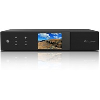 VU+ Duo 4K SE Sat-/Terr.-Receiver, schwarz, DVB-S2X FBC Twin & 1x DVB-T2 Dual