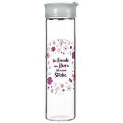Die Freude am Herrn ist meine Stärke - Glasflasche