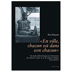 « En ville  chacun est dans son chacun ». Rita Bossart  - Buch