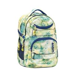Wave Schulrucksack Infinity, Schultasche, für die weiterführende Schule, Rucksack für Mädchen und Jungen gelb