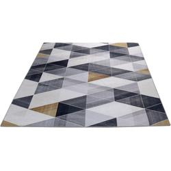 Teppich Fenix Dreieck, Living Line, rechteckig, Höhe 5 mm 60 cm x 110 cm x 5 mm