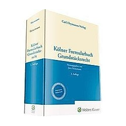 Kölner Formularbuch Grundstücksrecht - Buch