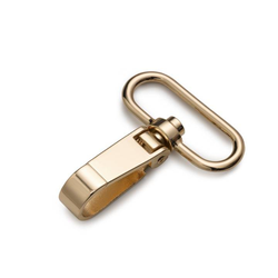 PRYM Karabinerhaken 40 x 60mm, new gold, 100% Metall, Zubehör, Taschenzubehör