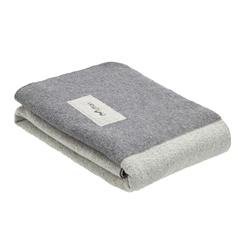 Mufflon BLANKET - Decke - Gr. 200 X 140 - FOG|GREY / weiß|grau