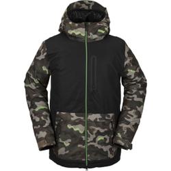 Volcom - Deadlystones Ins Jacket Army - Skijacken - Größe: S