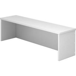 Thekenaufsatz für Schreibtisch 1200x800mm Grau