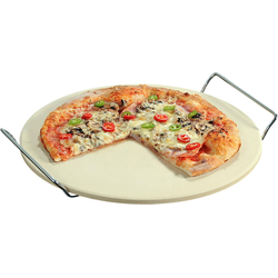KESPER for kitchen & home Pizzastein, Keramik, Metall, Schamottstein