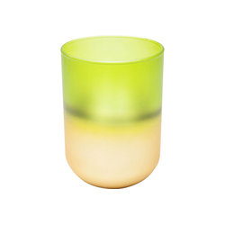 KARE Kerzenständer Windlicht Sansibar Duo 15cm grau
