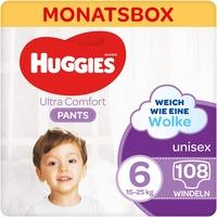 HUGGIES Schwimmwindeln Comfort Größe 6, 15-25kg, Monatsbox