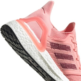 adidas Ultraboost 20 W glory pink/maroon/signal coral 42