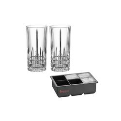 SPIEGELAU Glas Perfect Ice Cube Set, Kristallglas