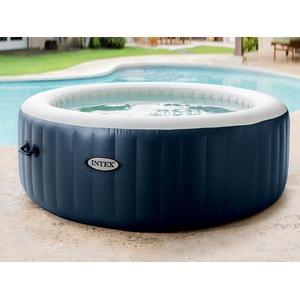 Intex Pure Spa Plus Whirlpool 28406 Jacuzzi Ø 196 cm mit Kalkschutz 4 Personen Poratble Spa