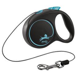 flexi BLACK DESIGN Seil blau, Größe: XS