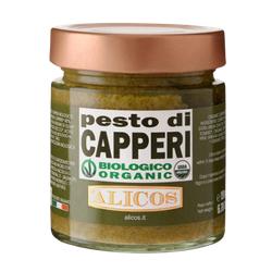 Pesto aus Kapern, BIO, 190g - Alicos