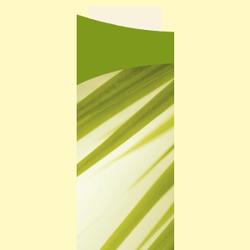 DUNI Sacchetto Motiv Serviettentaschen, Bestecktaschen inklusive Servietten, 1 Karton = 5 x 100 Stück = 500 Stück, Muster: Bamboo