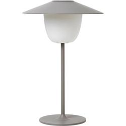 BLOMUS LED Tischleuchte ANI LAMP, 3 fache Verwendungsmöglichkeit grau